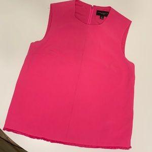 Victoria Beckham by Target Hot Pink Sleeveless Top